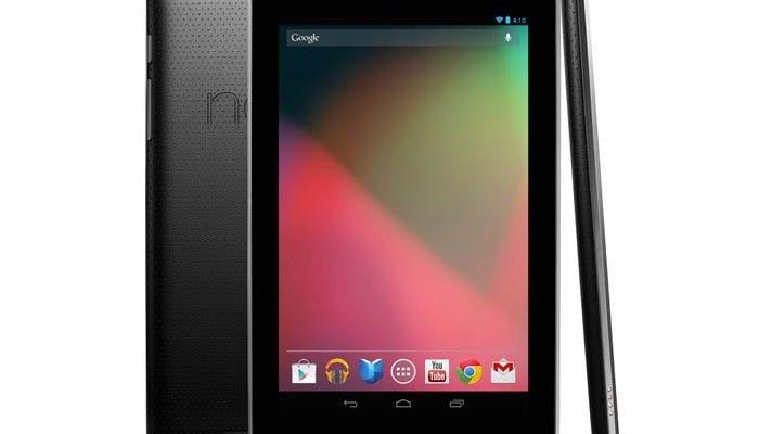 Imagen del tablet Nexus 7 de Google y ASUS