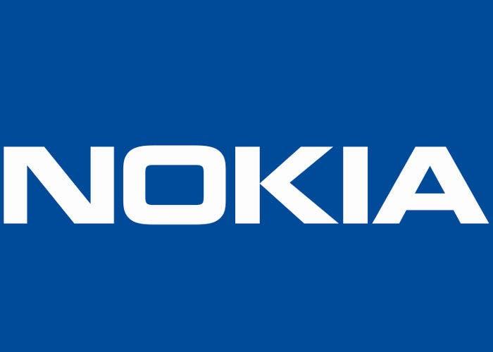 Logo del fabricante de móviles finlandés Nokia.