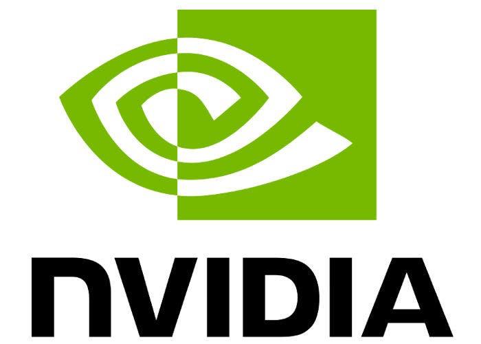 Logo de la empresa de semiconductores NVIDIA