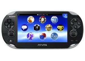 Imagen de la videoconsola portátil PS Vita de Sony