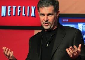 Imagen del CEO de Netflix
