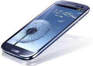 Fotografía del smartphone Samsung Galaxy S III