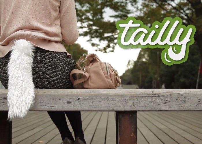 Imagen de la cola móvil Tailly que puede usarse como accesorio