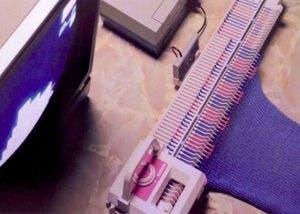 Imagen de la máquina de tejer para la Nintendo NES