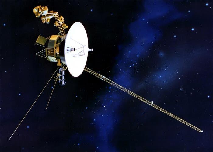 Recreación de la Sonda Espacial Voyager-1