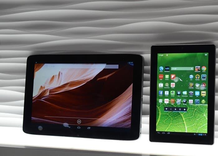 vista de la tablet presentada en el CES
