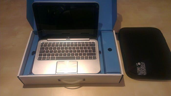 Caja del HP Envy X2
