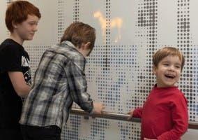 Paneles LED Niños hospitalizados