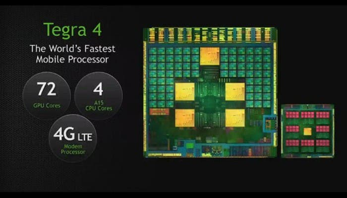 Nueva generación de procesadores NVidia
