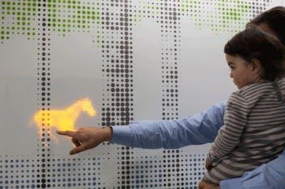 Paneles LED hospital niños