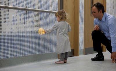 Luces LED niños hospitalizados