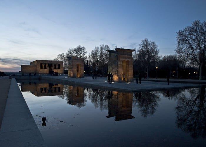 Templo de Debod ubicado en Madrid