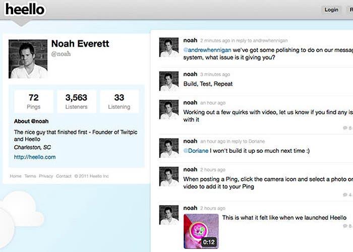 Muy similar a Twitter