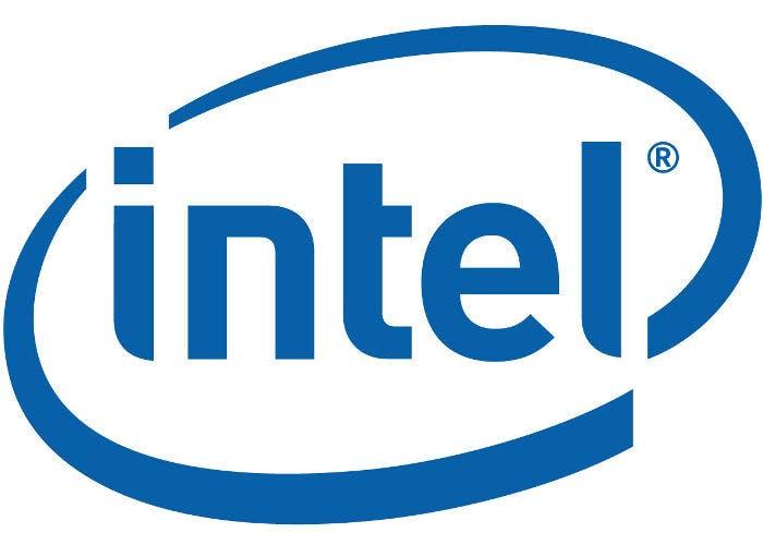 Logo del fabricante de semiconductores Intel