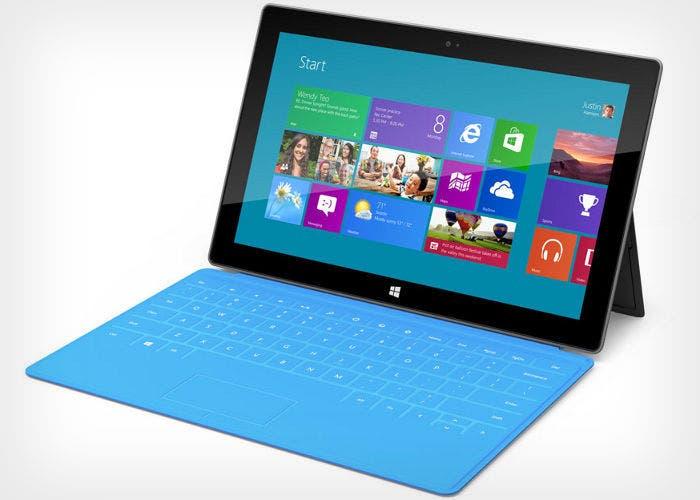 Imagen del tablet Microsoft Surface