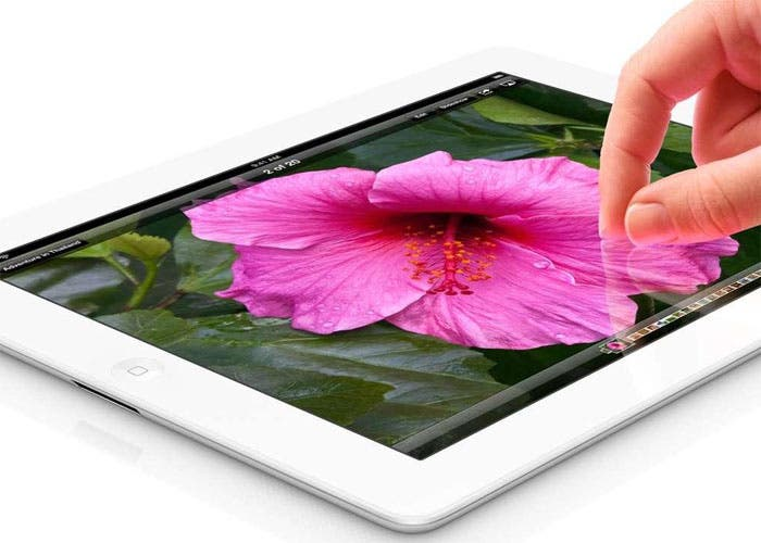 Imagen del tablet iPad de Apple
