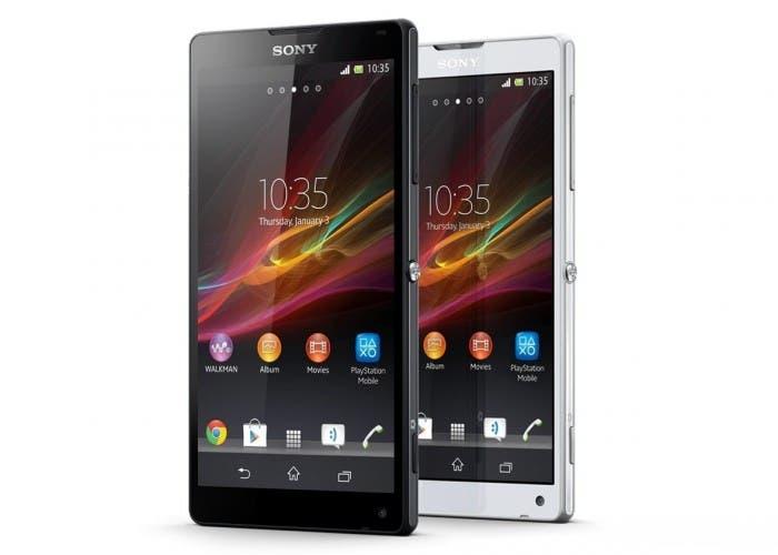 Imagen del smarthpone Sony Xperia ZL