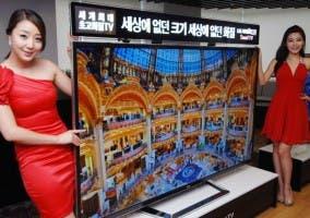 Imagen de un televisor 4K de LG
