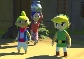 Captura de The Legend of Zelda: Wind Waker para Wii U
