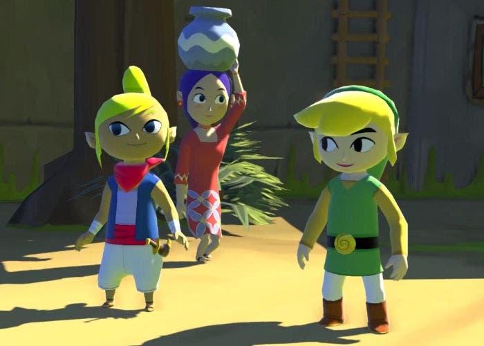 Captura de The Legend of Zelda: Wind Waker para Wii U