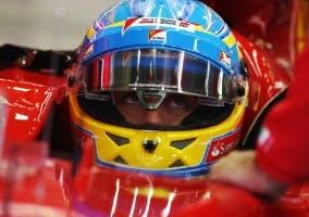 Alonso concentrado