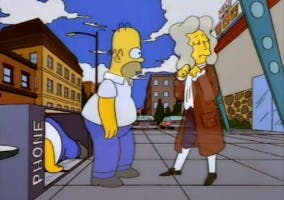 La visión de Homer