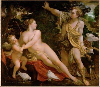 Venus_Adonis_Cupido_