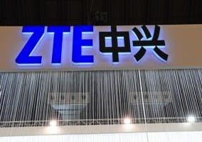 Logo de la empresa en su stand