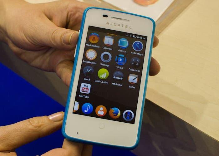 Alcatel One Touch Fire - aplicaciones