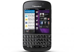 Imagen del smartphone BlackBerry Q10