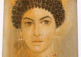 retrato de mujer del Fayum