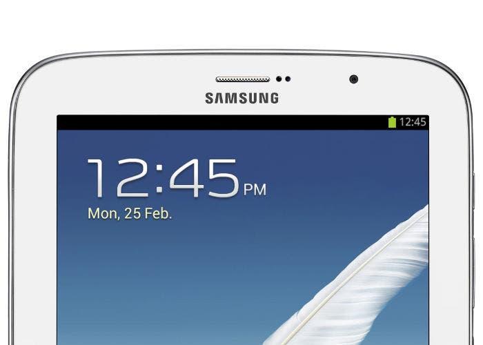 Detalle del Samsung Galaxy Note 8.0