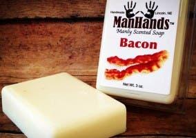 ManHands, jabón con olor a bacon