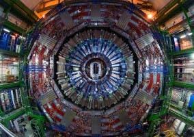 Imagen de LHC (Gran Colisionador de Hadrones) del CERN