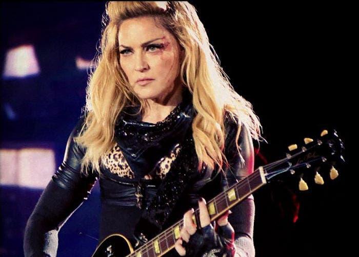 Imagen de Madonna subida a Instagram