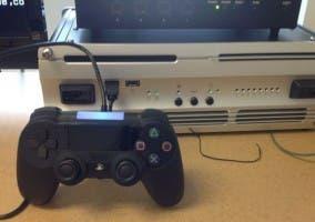 Supuesto prototipo de mando de PlayStation 4 de Sony