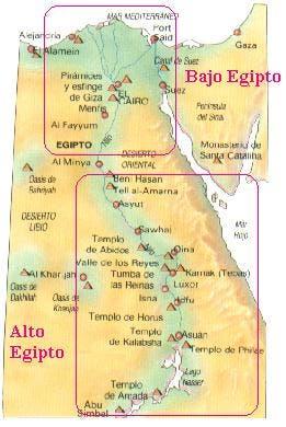 Alto y Bajo Egipto
