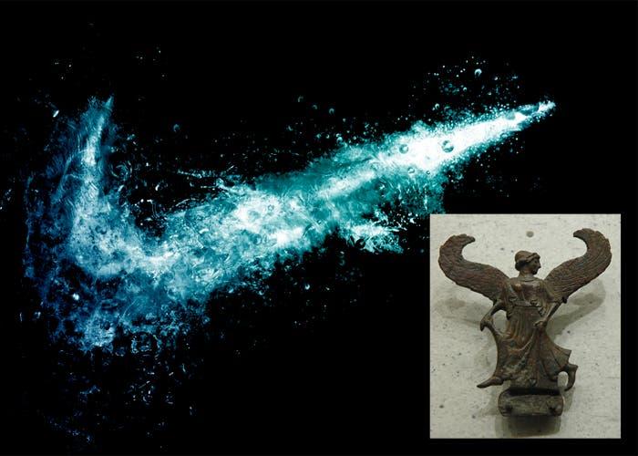 Logotipo de Nike y diosa Niké
