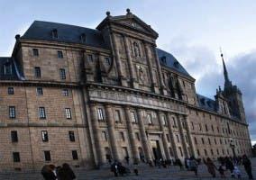 Fachada de El Monasterio de el Escorial