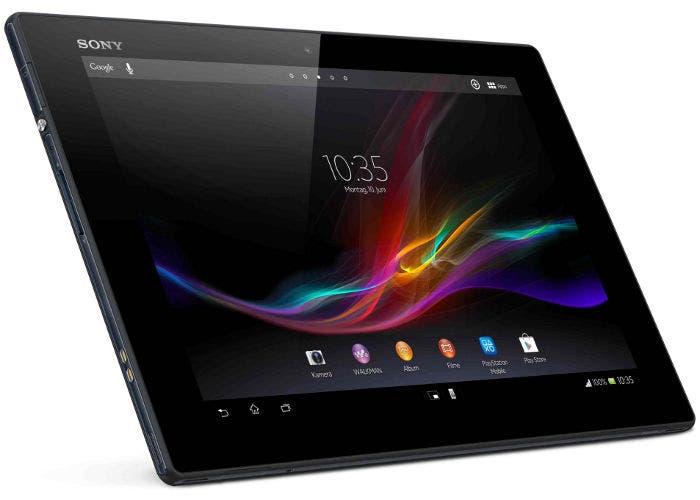 Imagen de un Sony Xperia Tablet Z