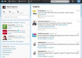 Captura de Twitter en idioma LOLcat