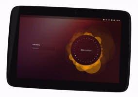 Imagen de la versión del sistema operativo Ubuntu para tablets