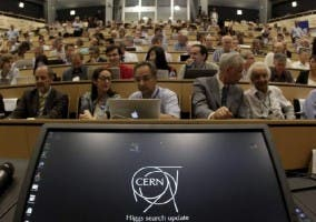 Press conference CERN