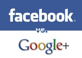 Plagio Interfaz de Facebook a Google+