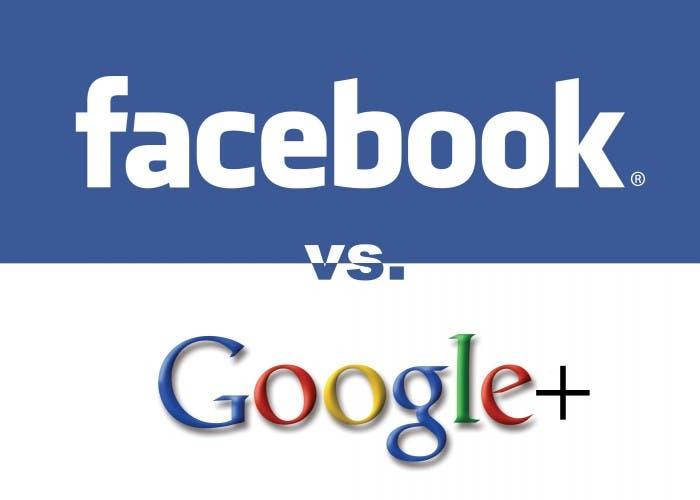 Plagio Interfaz de Facebook a Google+