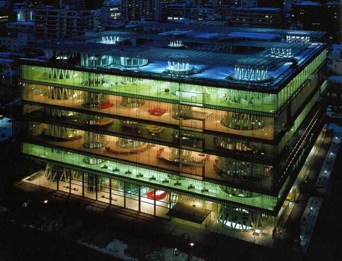 Mediateca Sendai de Toyo Ito 2000