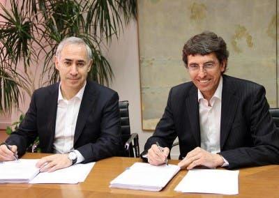 Consejeros Delegados de Orange y Vodafone