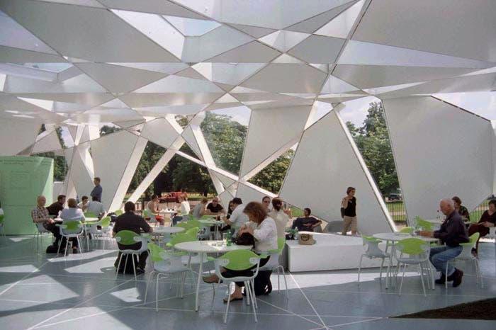 Pabellón Serpentine en Londres Toyo Ito 2002