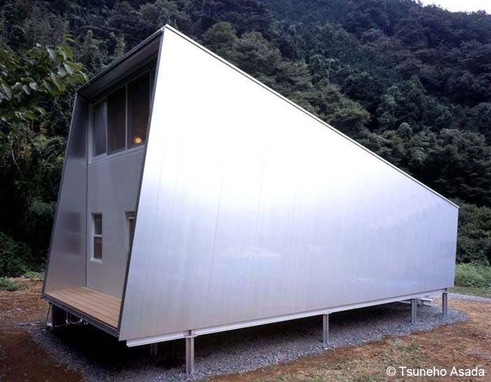Vivienda de aluminio Toyo Ito en los años 70