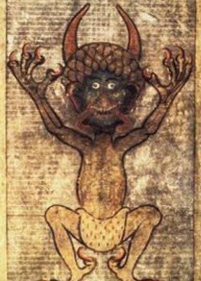 La representación del demonio es constante